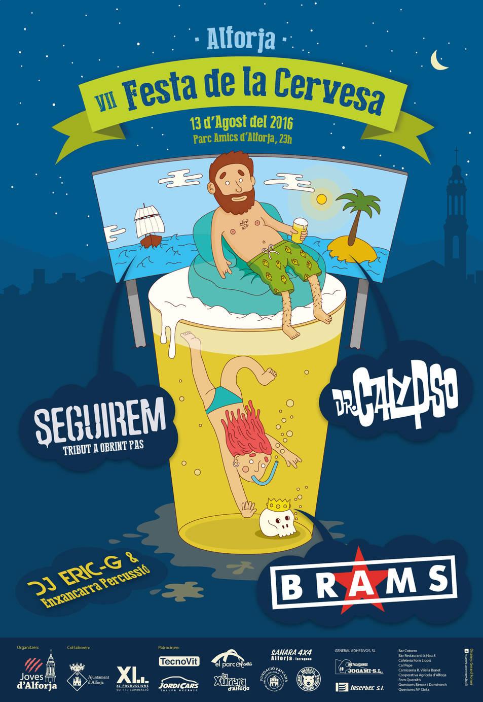 Cartell de la VII Festa de la Cervesa