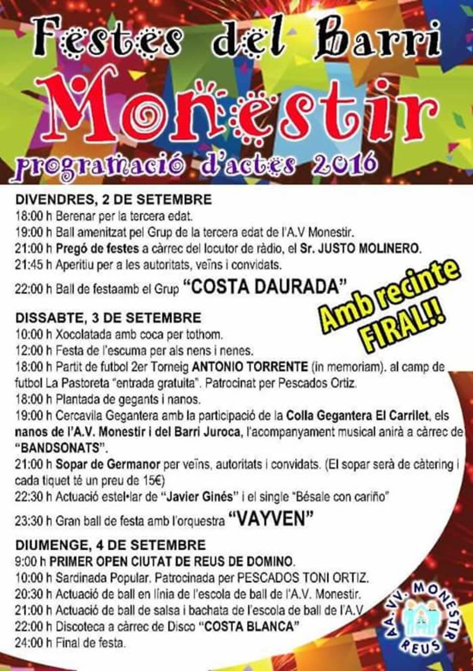 Festes del Barri Monestir