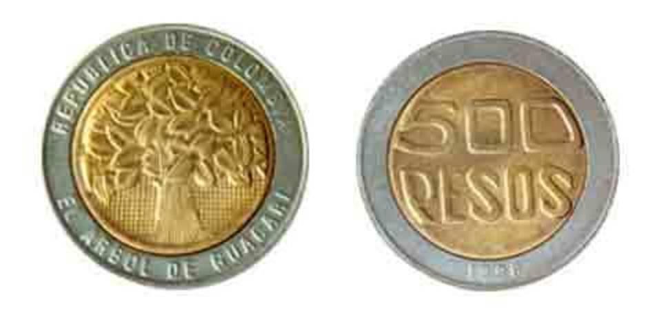 500 pesos colombians