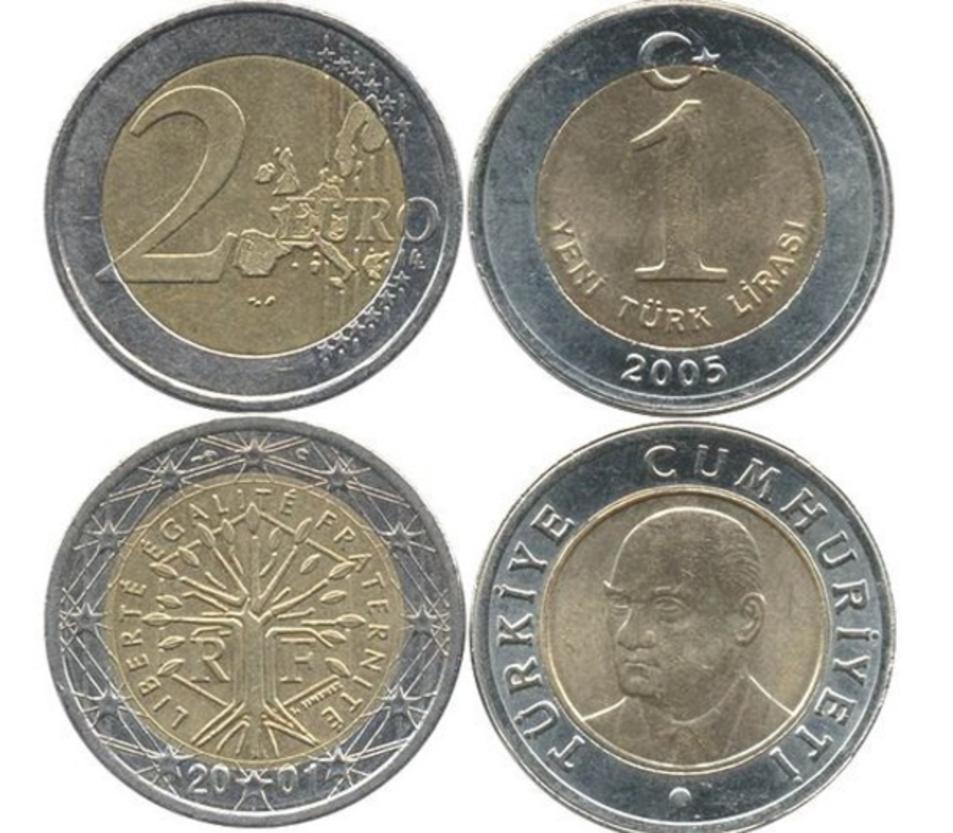 1 lira turca