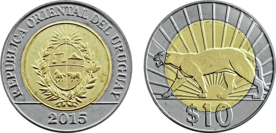 10 pesos Uruguay
