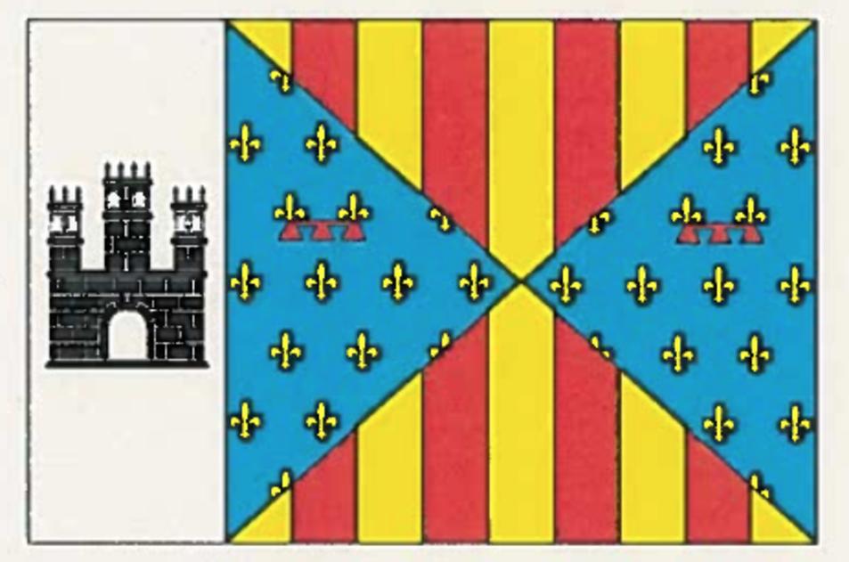 Bandera de Vilanova de Prades