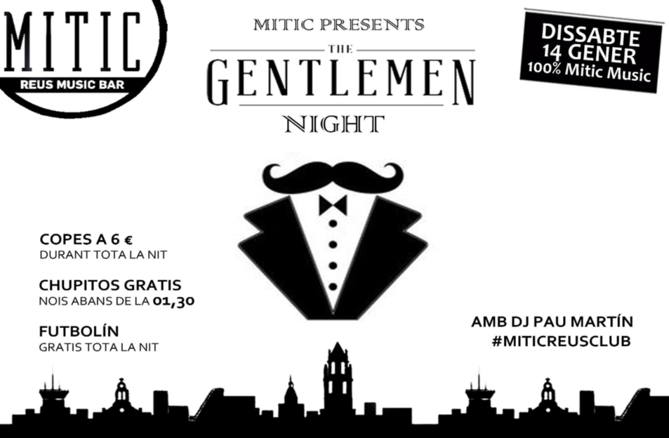 Gentlemen Night