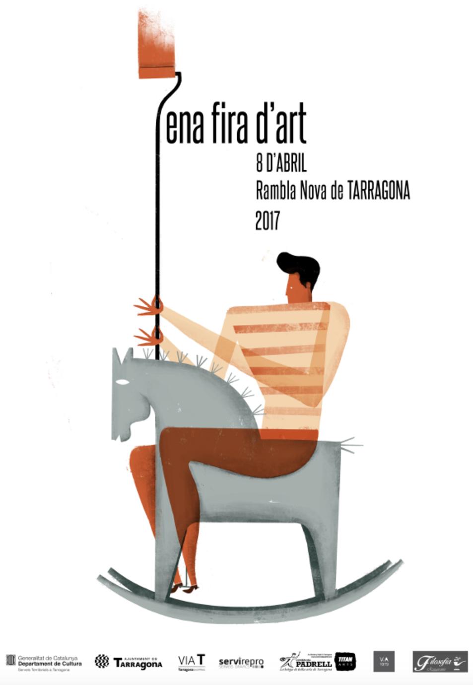 Cartell fira dArt a Tarragona