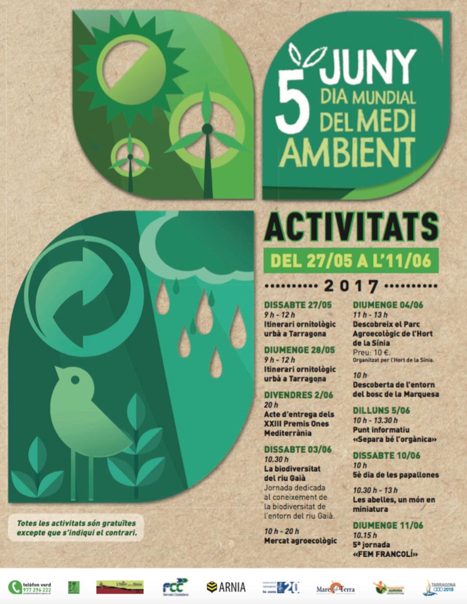 Cartell Dia del Medi Ambient