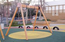 Els veïns de Bonavista demanen que es posin tanques per protegir el parc infantil