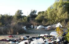 Aquest any s'han eliminat 100 tones de material de 26 abocadors il·legals en terrenys públics a Tarragona