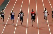 Hortelano bat el rècord d'Espanya en el retorn de Bolt a la competició