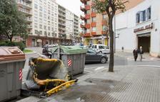Nit de crema de contenidors a Reus, Valls i el Vendrell
