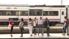 Retards a la renfe al Tarragonès per l'incendi d'un comboi