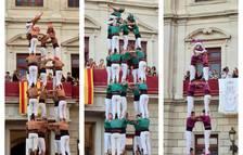 Els castellers també celebren Misericòrdia