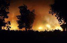 Santa Tecla s'acomiada amb foc