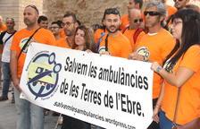 Vaga indefinida del servei de transport sanitari de les Terres de l'Ebre a partir del 25 d'octubre