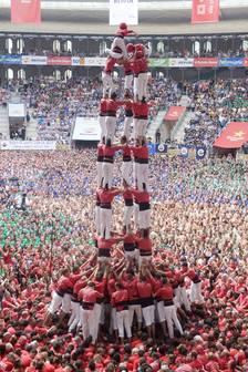 La Joves de Valls queda quarta i els Xiquets de Tarragona ensopeguen fins la 17a plaça