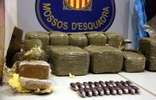L'operació antidroga de Deltebre acaba amb 20 detinguts i 2,6 quilos d'haixix decomissats