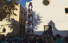 La diada dels Xiquets de Tarragona deixa castells de set i de vuit a la plaça del Rei