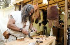 Els artesans del Mercat Medieval tenen problemes per accedir-hi