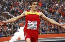 Bruno Hortelano bat el rècord d'Espanya de 200 metres