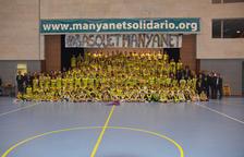 L'escola Pare Manyanet presenta la seva secció de bàsquet