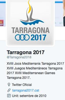 @Tarragona2017 ara és @Tarragona2018