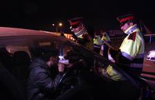 El detenen a la Bisbal per saltar-se un control d'alcoholèmia sense carnet i drogat