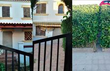 Els intents d'ocupar un habitatge a Vilafortuny obliga el banc a tapiar-lo