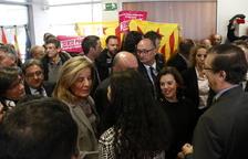 Rebuda al crit d''independència' a Sáenz de Santamaría a Reus