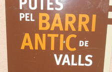 Les 'noves' rutes pel barri antic de Valls