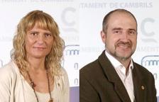 Montse Masdeu (ERC) i Aldredo Clua (PSC) deixen l'acta de regidor a Cambrils