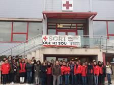 Creu Roja fa un minut de silenci per la mort de sis voluntaris nigerians