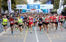 Pedro Nimo i Maria García s'emporten la Marató de Tarragona