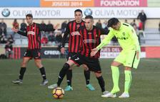 Querol afegeix el gol al seu catàleg de recursos com a roig-i-negre