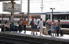 Un tren queda aturat entre Móra la Nova i Ascó per una incidència tècnica