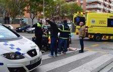 Atropellen una dona en un pas de vianants a l'avinguda Vidal i Barraquer
