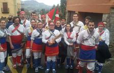 El País Basc acull el Ball de Bastons de l'Arboç i el Drac i l'Esbart Dansaire Sta. Eulàlia de Banyeres