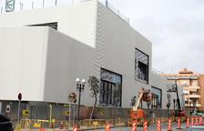 Les obres de construcció del pavelló Sant Jordi afronten la recta final
