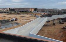 La passarel·la singular, enllestida