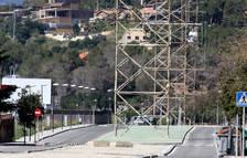 El Pinar reclama a la Generalitat una solució per a les torres d'alta tensió