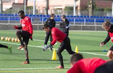 Edgar Badia surt a la caça del 'Zamora' amb l'equip a les espatlles