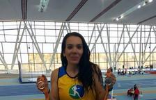 La vendrellenca Sonia López s'emporta dues medalles en el Campionat de Catalunya