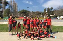 Dotze podis pels patinadors del Nàstic al Campionat de Catalunya de pista