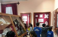 270 alumnes visiten el Museu de Punta al Coixí i l'Escola de Puntaires de l'Arboç