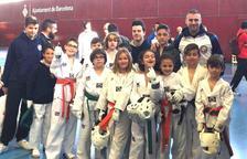 El taekwondo de la Lira s'emporta 4 ors, 7 plates i 3 bronzes al Campionat de Catalunya Infantil