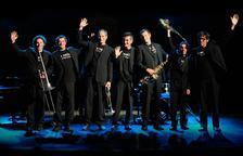 La Vella DIxieland i la seva versió de temes clàssics del jazz, a l'Auditori Pau Casals