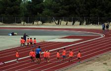 El Club d'Atletisme podrà utilitzar tres carrils de la pista durant el Mundialet