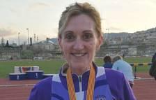 Antonia Royo, del Club Atletisme Tarragona, campiona de Catalunya de 10.000 metres llisos