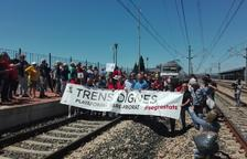 Trens Dignes desconfia de les promeses d'inversions ferroviàries fetes per Rajoy