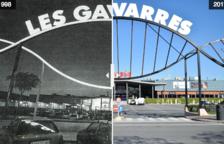 Mira l'abans i ara de Les Gavarres