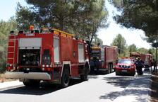 Sorprenen la responsable de 20 incendis a l'Ametlla de Mar iniciant un nou foc