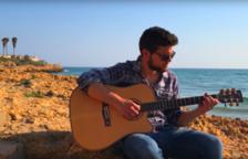 El cantant Luca Bonifaccio roda el seu últim videoclip a Tarragona